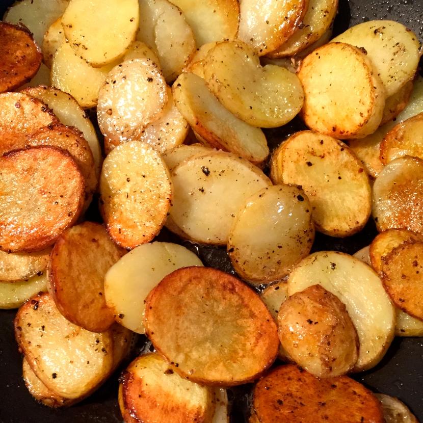 Pommes de terre sautées © Greta Garbure