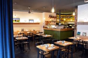 Intérieur restaurant Anicia © Géraldine Martens