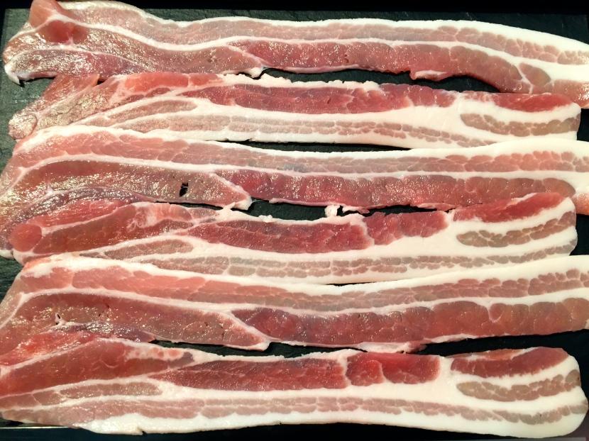 Bacon anglais © Greta Garbure