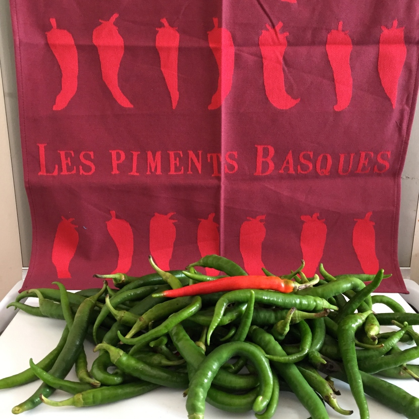 Les piments basques © Greta Garbure