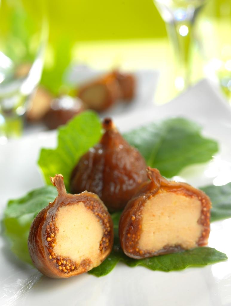 Figues fourrées au foie gras Lucien Doriath © Pygmalion