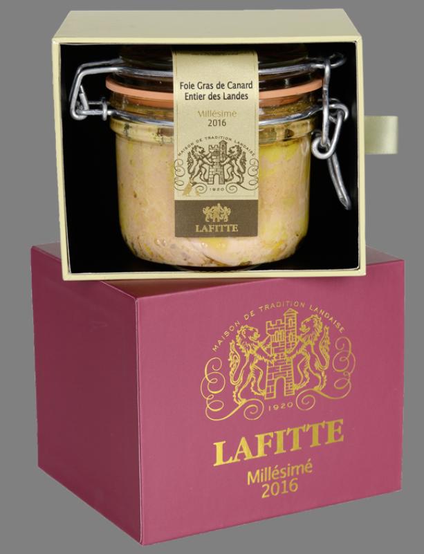 Foie gras millésimé de la maison Lafitte
