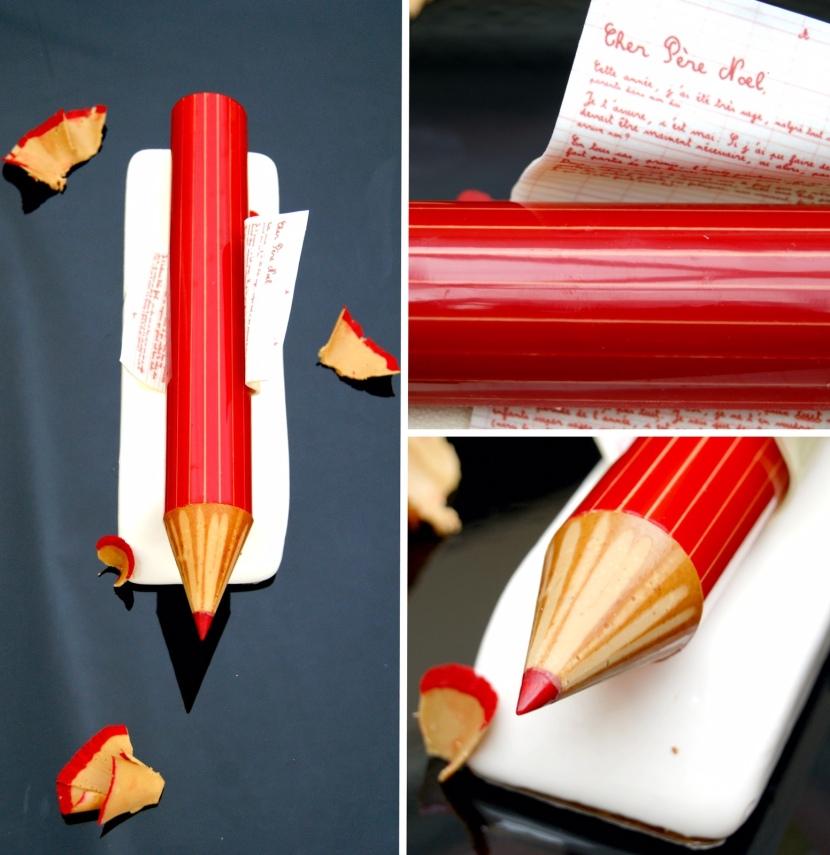 Les Grandes Tables du monde - Bûches de Noël Crayon - Georges Blanc Parc