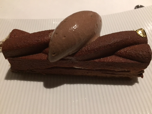 Barre chocolatée et truffes © Greta Garbure