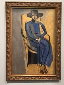Greta Prozor, huile sur toile d'Henri Matisse (fin 1916) © Greta Garbure