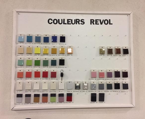 Les couleurs Revol © Greta Garbure