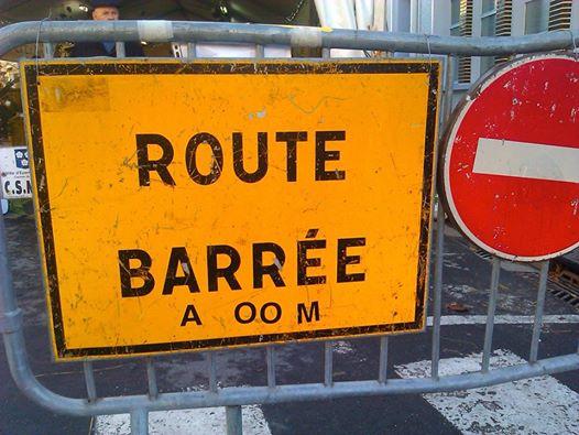 Route barrée © Greta Garbure